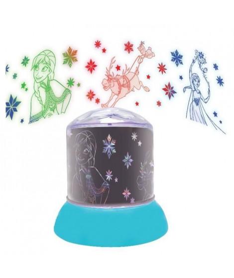 Veilleuse avec projections La Reine des Neiges