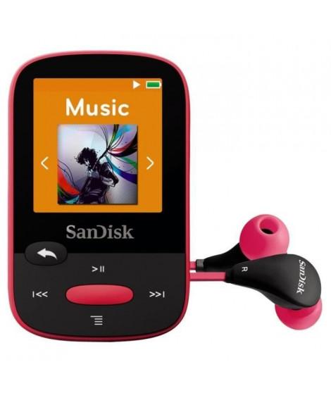 SanDisk Clip Sport 8 Go Rose Lecteur MP3