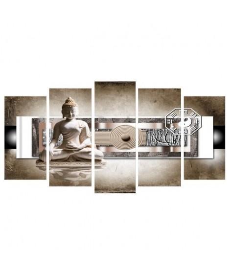 FINLANDEK Tableau multi panneau Zen Ylöjärvi 150x80 cm beige