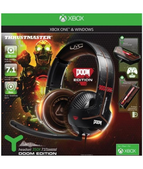 Thrustmaster Micro-Casque Gamer Y-350X DOOM EDITION Xbox One/PC