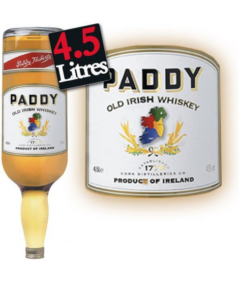 Paddy Irish Whiskey (4.5L)