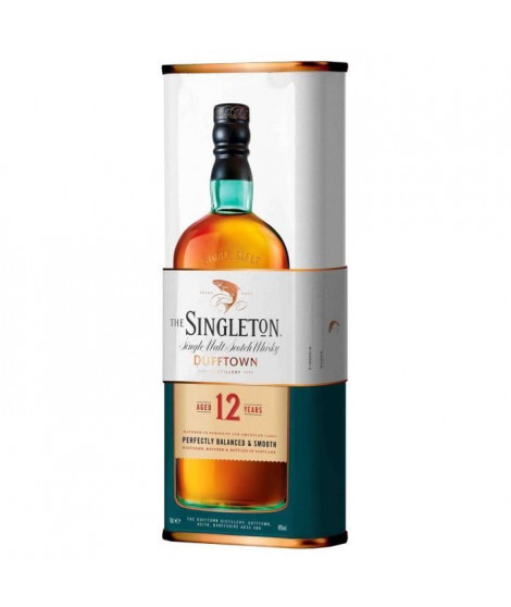 Singleton of Dufftown 12 ans - Speyside Single Malt Scotch Whisky - 40%vol - 70cl - Etui Métal