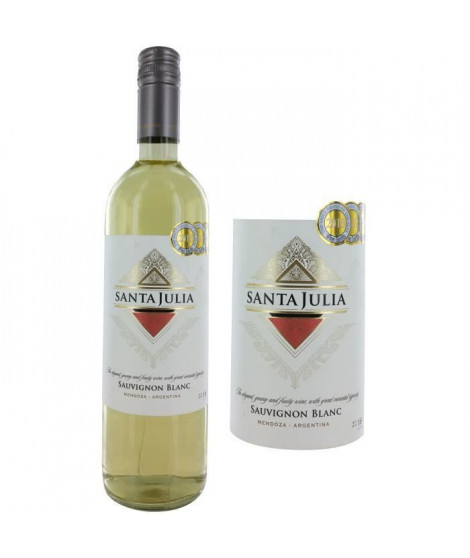 Sauvignon blanc 2016 Mendoza - Vin Blanc d'Argentine