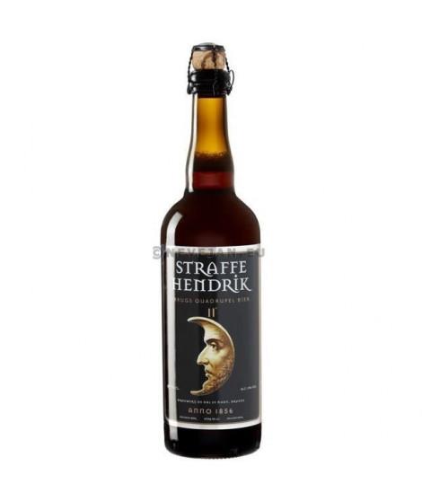 BRASSERIE DE HALVE Straffe Endrick Quadruple - Biere Brune - 75 cl - 11 %