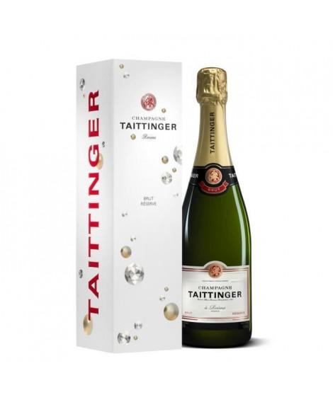 Champagne TAITTINGER Brut Réserve étui 75 cl 12,5°
