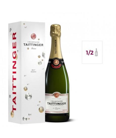 Champagne TAITTINGER Brut Réserve étui 37,5 cl 12,5°