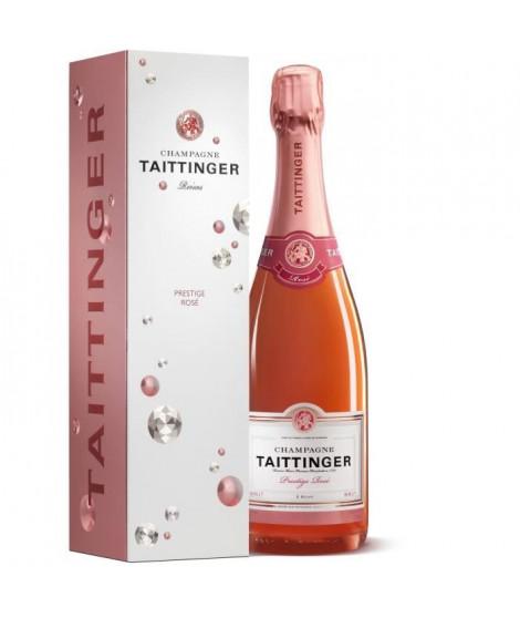 Champagne TAITTINGER Prestige Rosé étui 75 cl 12,5°
