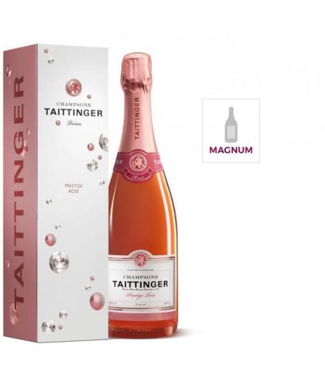 MAGNUM Champagne TAITTINGER Prestige Rosé étui 150 cl 12,5°