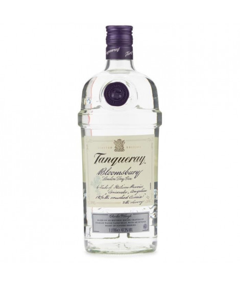 TANQUERAY Gin Bloomsbury London Dry - 47,3 % - 100 cl