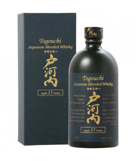 Togouchi - 15 ans - Whisky - 43.8% Vol. - 70 cl