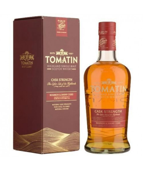 Tomatin - Bourbon & Sherry Cask - Highland Single Malt Scotch Whisky - 57,5% - 70 cl