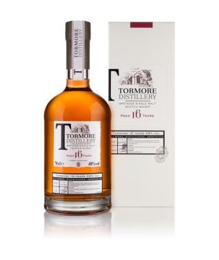 Whisky écossais Tormore - 16 ans d'âge - 70 cl - 48 °