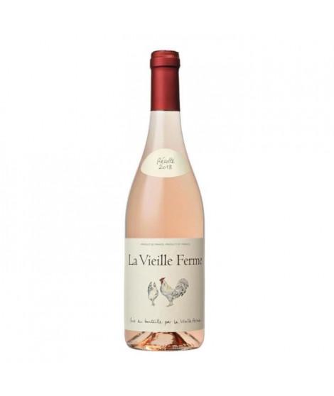 La Vieille Ferme 2018 Côtes du Lubéron - Vin rosé de la Vallée du Rhône