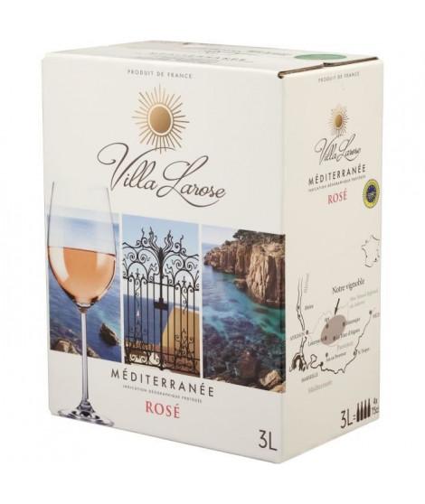 BIB Villa Larose IGP Méditerranée - Vin rosé de Provence