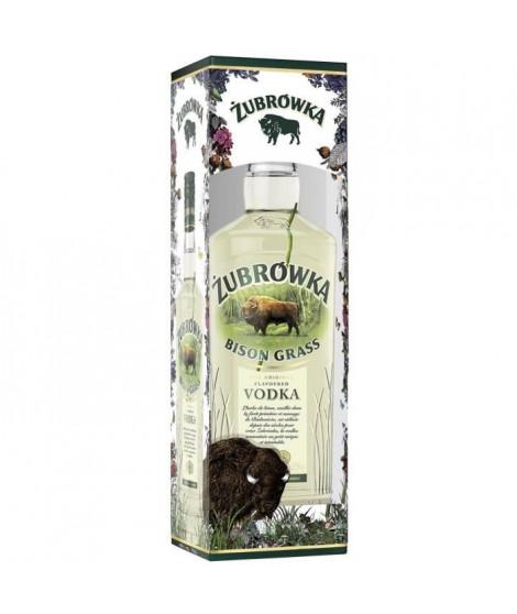 Zubrowka Bison Grass - Vodka de Pologne - 37,5%vol - 70cl - Etui en édition limitée