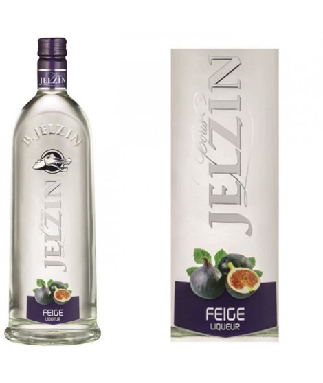 JELZIN Liqueur de Vodka Figue 18°