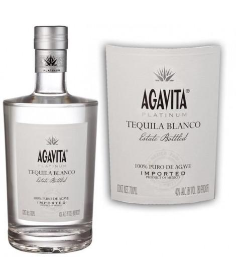 Téquila AGAVITA PLATINUM BLANCO 40°