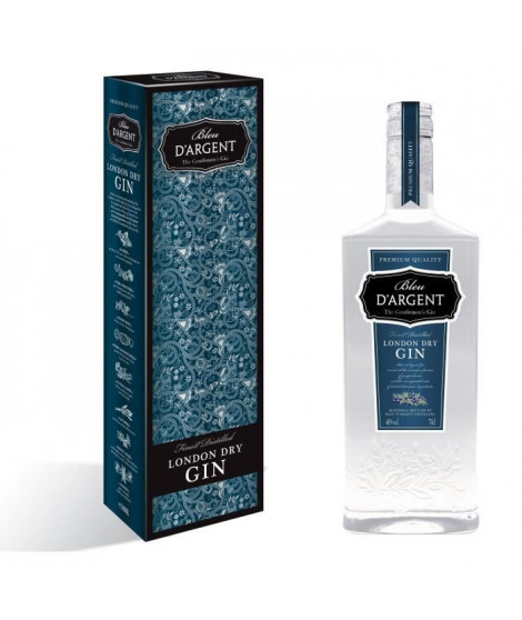 Bleu d'Argent - Gin - Etui - 40.0% Vol. - 70 cl