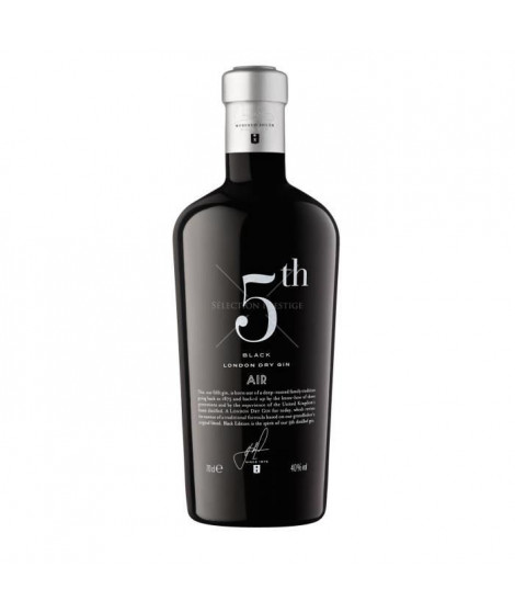 Gin 5th Black Air - 70 cl - 40°