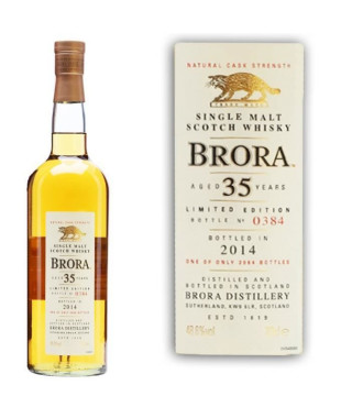 Brora 13th release 1978 35 ans 48.6°