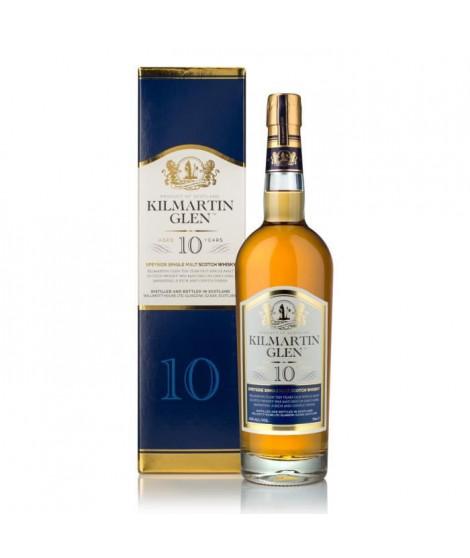 KilMartin Glen - 10 ans - Scotch Whisky Single Malt - Etui - 43.0% Vol. - 70 cl