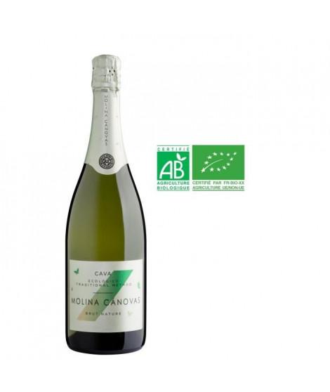 BODEGA ALCENO Molina Canovas Cava Brut nature BIO - Vin effervescent - 75 cl