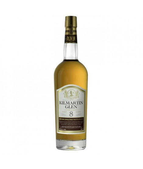 KilMartin Glen - 8 ans - Scotch Whisky Single Malt - Etui - 43.0% Vol. - 70 cl