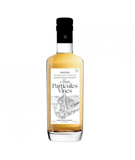 Benjamin Kuentz Aux particules Vines - Whisky Single Malt Français - 46%vol - 50cl