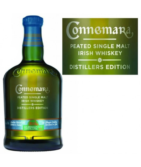 Connemara Distillers Edition 70cl Peated Single...