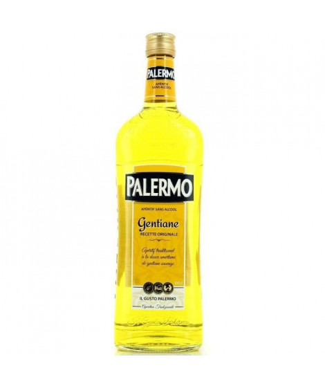 PALERMO Palermo Gentiane La bouteille de 1 Litre