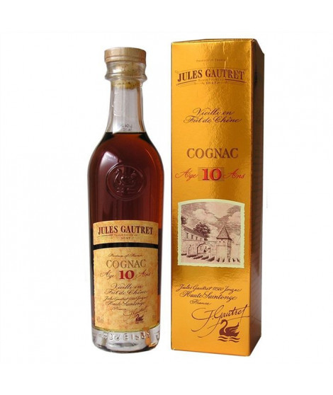 Jules Gautret 10 ans Cognac 35cl