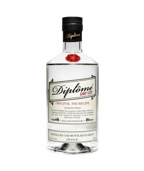 Diplôme - Dry Gin - 44% - 70 cl