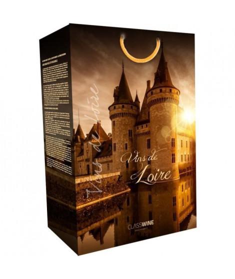 CLASSWINE Pochette pour 2 bouteilles vin de Loire Sully