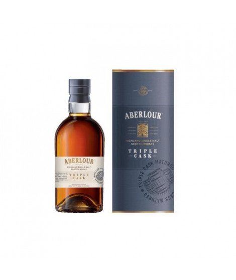 Aberlour Triple Cask - Highland Single Malt Scotch Whisky - 40% - 70 cl