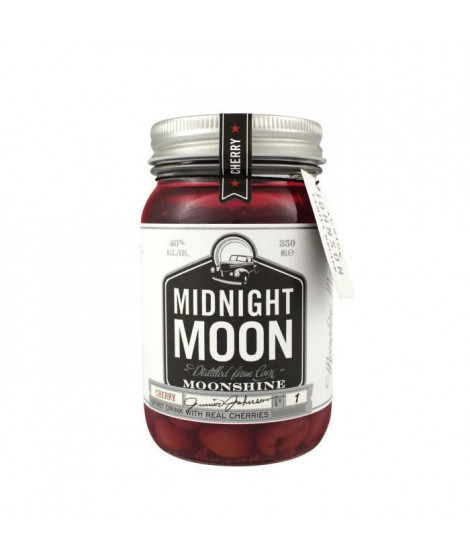 Midnight Moon Cherry, American Moonshine 40° 35 cl