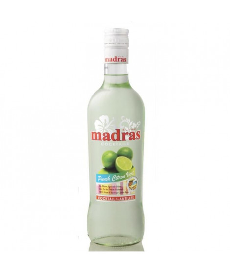 Punch Madras Citron vert