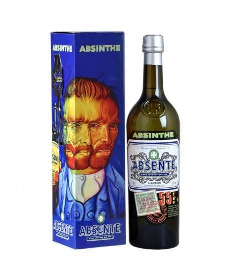 Absente - Absinthe - 55.0% Vol. - 70 cl - Cuillere et étui Van Gogh