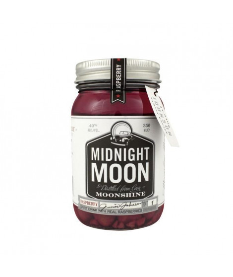 Midnight Moon Raspberry, American Moonshine 40° 35 cl