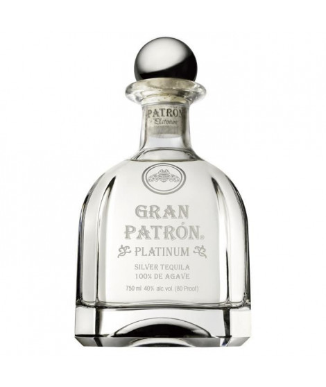 Patrón Platinum Tequila 70 cl - 40°