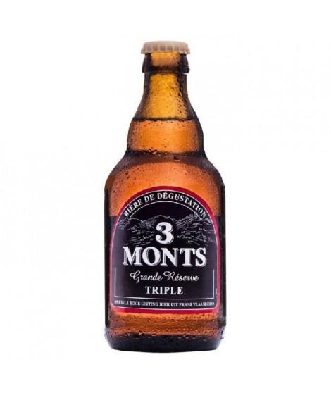 3 MONTS - Grande Réserve - Biere Ambrée - 33 cl