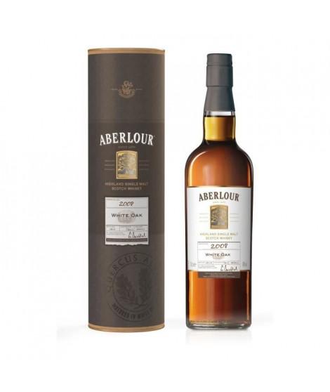 Whisky ABERLOUR WHITE OAK 2008 - Highland Single Malt - 40% - 70cl + étui