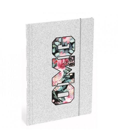 OMG Chemise a élastique Folio - 3 rabats en carton - Sparkle