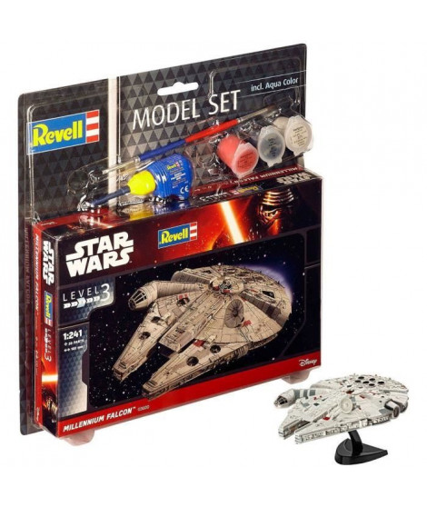 REVELL Maquette Model set Star Wars Millennium Falcon 63600
