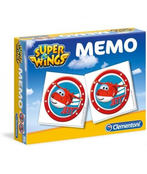 CLEMENTONI Super Mémo - Super Wings - Jeu de mémorisation
