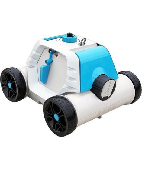 BESTWAY Robot électrique pour nettoyage piscine Thetys HJ1005 - Fond plat - A batterie - 6 x 3 m