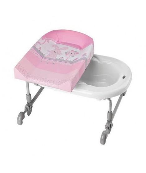 BREVI Table a langer BAGNOTIME Little angels- Adaptable sur baignoir adulte