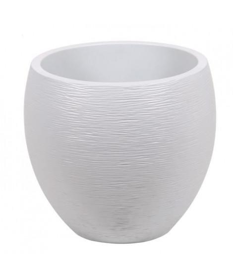 EDA Pot rond Graphit Ø50cm - Contenance 46L - Blanc cérusé