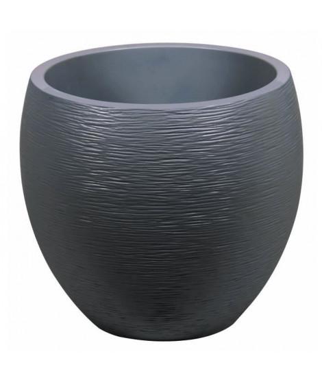 EDA Pot rond Graphit Ø50cm - Contenance 46L - Gris anthracite