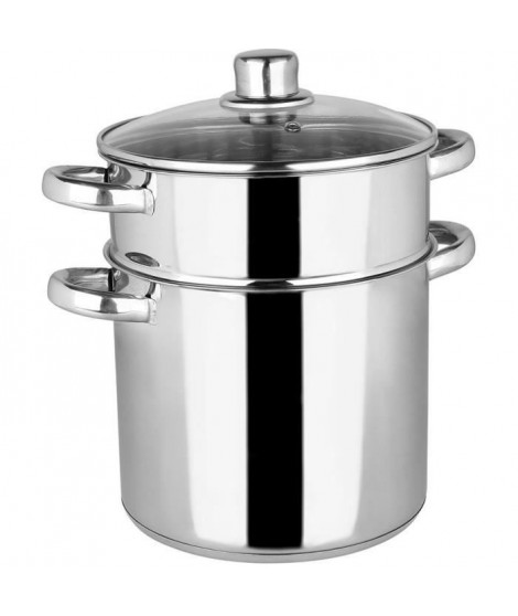 Crealys Couscoussier - 502471 - Inox 6L Induction