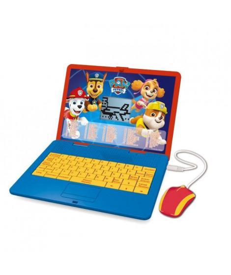 LEXIBOOK Pat' Patrouille - Ordinateur portable éducatif bilingue (EN/FR) pour enfant avec 120 activités
